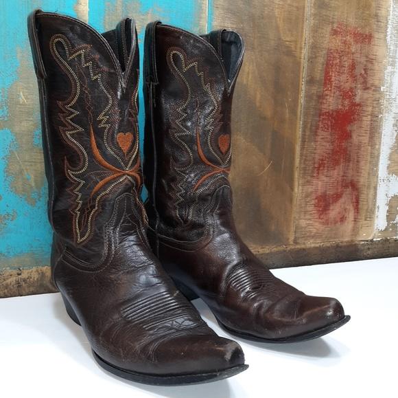 c7c4c843511e7 Dingo Vintage Cowgirl Boots